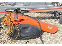 Flymo Leaf Blower/Vacuum, 2.5 kW, little used, excellent working order.