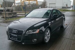 2008 Audi A5 Quattro 3.2 Clean, Leather, Heated Seats, Low KM!
