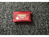 Pokemon Ruby for Nintendo Game Boy Advance GBA (cart only)