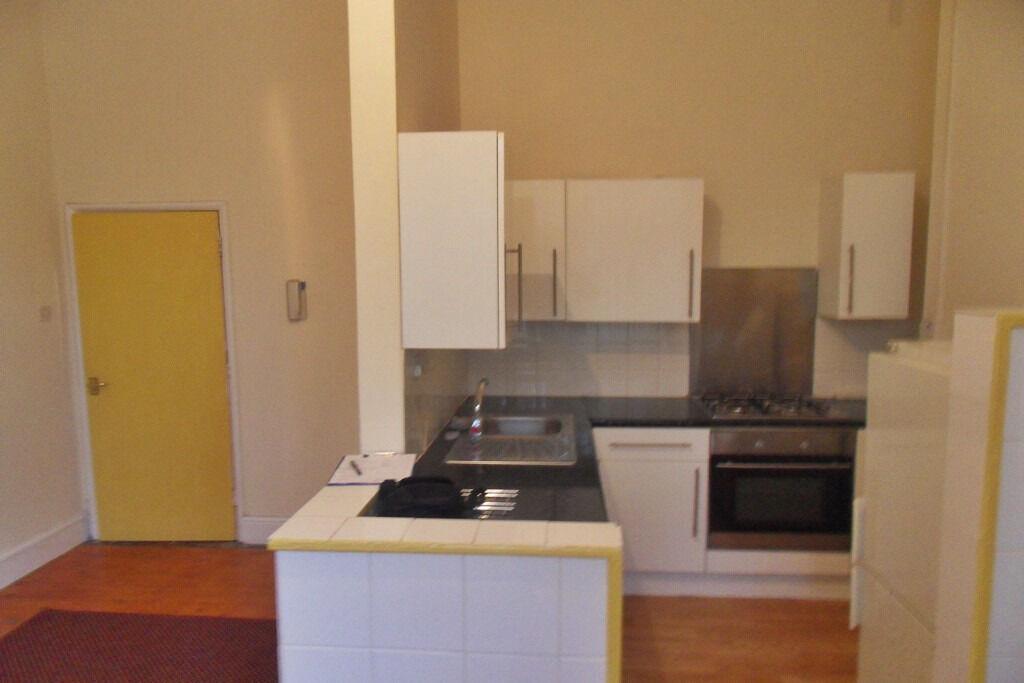 Spacious 1 Bedroom flat, City Centre, New Normanton, Charnwood Street