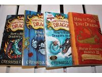How to Train your Dragon set of books