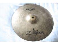 "Zildjian ZBT Ride 20"" cymbal."