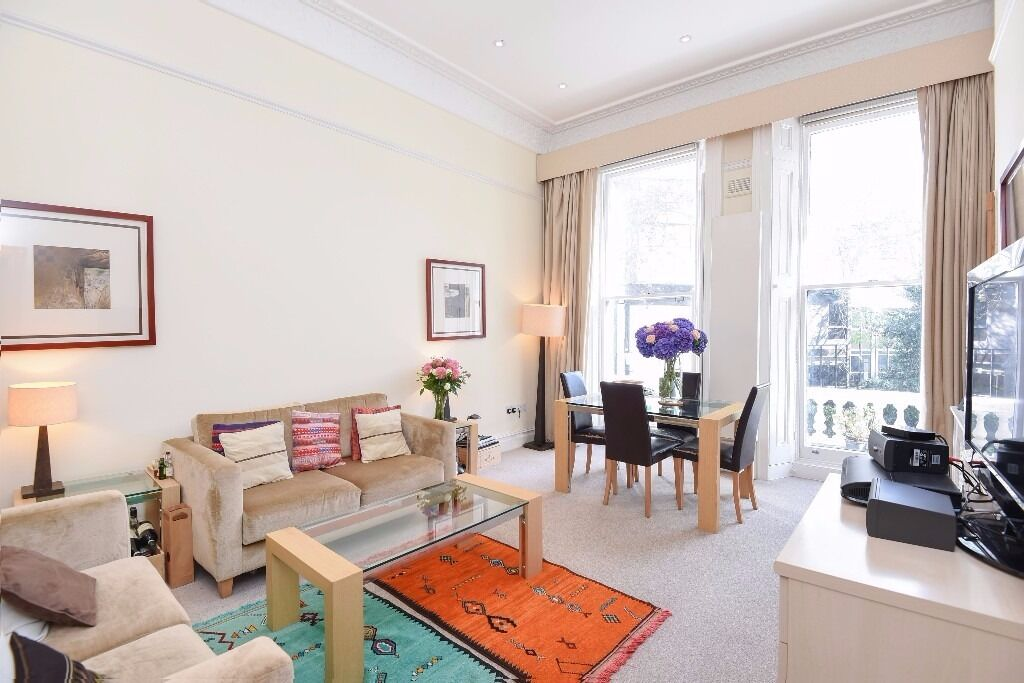 Two bedroom apartment on Ashburn Gardens, SW7