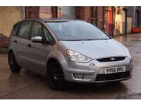 2006 (56) FORD S-MAX 2.0 LX 143 BHP, PETROL, MANUAL, 7 SEATER, FULL SERVICE HISTORY,DRIVES VERY WELL