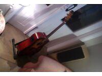 Fender DG22 SCE Acoustic-electric guitar.