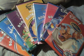 """10 Disney """"read to me"""" cds and books."""