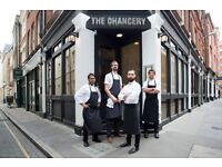 *Chef de Partie required for a lovely small, intimate, award winning, fine dining restaurant, EC4*