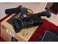 Sony HVR-V1P/V1E HDV 1080i/1080p, 50i/25p PAL Cinema Style Camcorder + Sony Bag Case