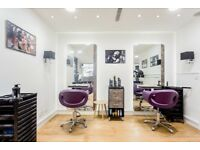 CHAIR TO RENT IN LUXURY HAIR SALON iN Notting Hill Gate