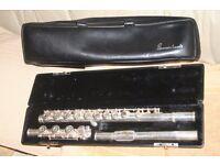 Gemeinhardt 3SB solid silver flute