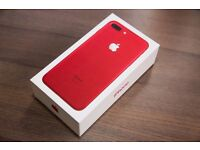 iPhone 7 red/ 128Gb/ Brand new/ Unlocked/ Sealed