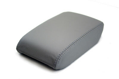Center Console Armrest Leather Synthetic Cover for Audi A5 08-17 Gray