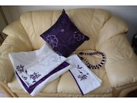 Double Quilt cover with Pillow Cases and Cushions