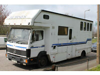 Mercedes 814 Horsebox - Great Runner, Clean and Homely Interior, Solid engine
