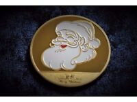 2017 Dated Gold Christmas Coin
