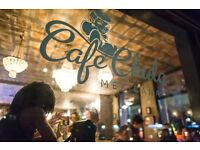 Full time bartender is needed in Cafe Chula!