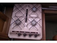 caravan 3 burner cooker with grill matching sink and drainer