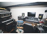 Monthly hire rehearsal space and production studio for bands and producers BS2