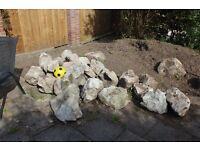 Large rocks for rockery or garden -- free