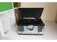 Trevi TT1064E Music Manager Vinyl/CD/Tape Player and Radio