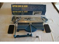 MITRE BOX AND SAW SET