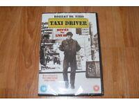 Taxi Driver - Classic Robert De Niro film. New, still in plastic wrapping.