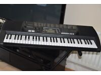 CASIO CTK-700 61 KEYS/STAND/POWER ADAPTER CAN BE SEEN WORKING