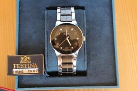 Ladies or Gents Festina Wrist Watch