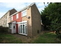 3 Bedroom End Terraced House to rent Perran Close-NO FEES