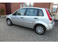 FORD FIESTA STYLE CLIMATE 1.2 SILVER 5 DR HATCHBACK 07 REG