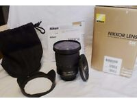 Nikon 10-24mm DX Lens Great Condition