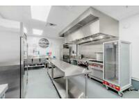 Commercial kitchen hire, Ghost Kitchen, Cloud Kitchen hire Central London
