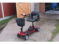 Komfi Rider portable mobility scooter for sale