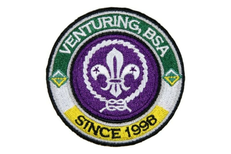 Venturing Since 1989 RING & World Crest - Private Issue Non Ven Ring
