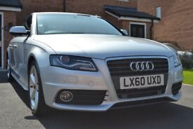 Audi A4 S-line 2.0 TDI - FSH, Low mileage, Timing belt done, Pristine condition
