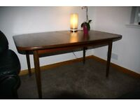 For sale retro vintage folding dining table.