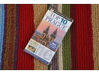 Prague guide book. DK Eyewitness travel - Marrakech TimeOut guide