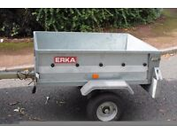 "galvanised steel trailer inside dimensions length 48"" width 36"" depth 13"" good tyres £170 ono"