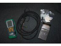 Plumbing tools, boiler, Gas analyser, Kane 400