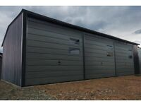 Warehouses for sale 6mx6m 20ftx20ft Graphite raised gable roof