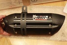 offers MIVV SUONO CARBON exhaust slip on muffler silencer LIKE AKRAPOVIC