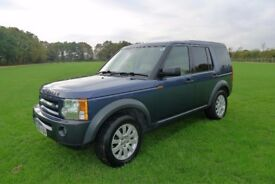 Land Rover Discovery 3 2.7 TD V6 SE 5dr / AUTOMATIC / BLUE / CREAM LEATHER INTERIOR