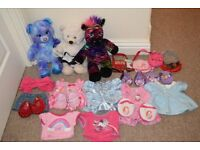 Build a Bear Bundle - bears and clothes
