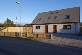 Bran New 2 bedrooms house 50m from sea cost in sea board village (TAIN area) BALINTORE IV20 1UW