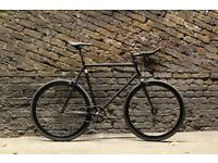 Christmas sale!!! Steel Frame Single speed road bike track bike fixed gear racing fixie bicycle a1