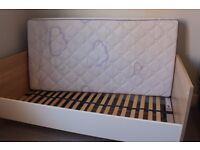 Baby cot and junior bed convertible - PAIDI - Solid wood, with mattress