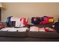 Girls Autumn Winter Clothes bundle 12-18 month - 74 items inc Next, Gap, M&S