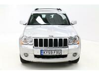 Jeep Grand Cherokee OVERLAND CRD V6 (silver) 2009-09-07