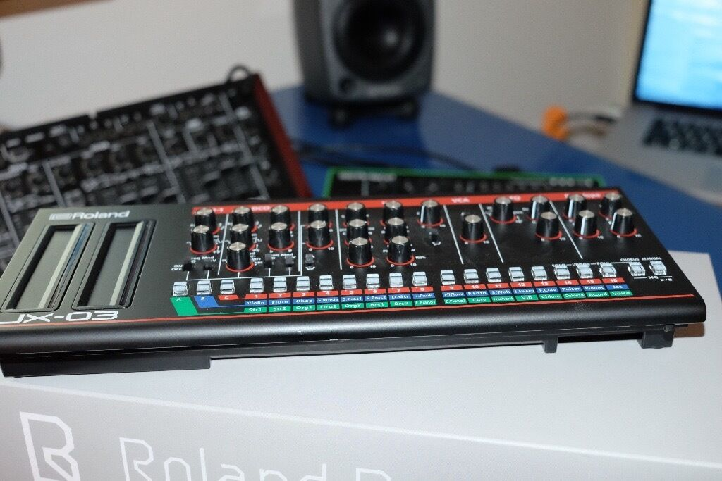 Roland JX-03 Boutique Synth.