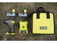 Ryobi 18v Brushless Drill & 2x 5ah Batteries